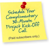 Schedule Your Complimentary Kick-off Call